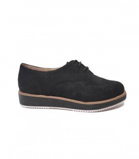 BLUCHER DS604 NEGRO