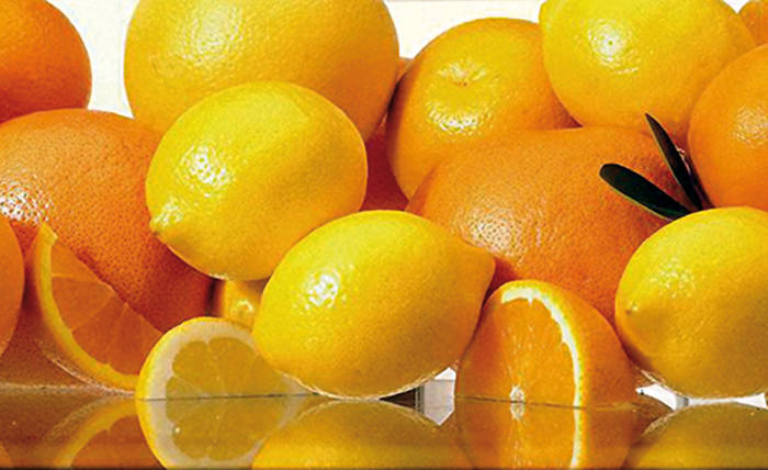 naranja y limon