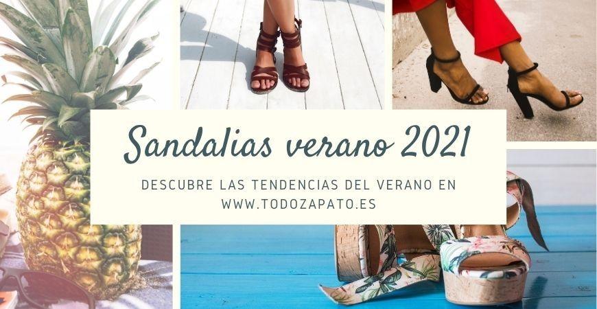 Sandalias de verano - Tendencias 2021